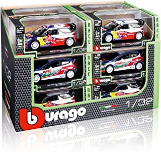 Bburago- 1/32 2017 m-Sport Ford Fiesta WRC (sébastien ogier) 18-41051, Color Variado (
