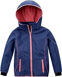 M2C Girls Hooded Fleece Lined Waterproof Windproof Jacket