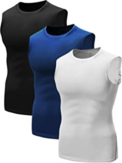 youth compression sleeveless shirt