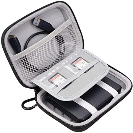 Ivation Compact Portable Hard Drive Case Large