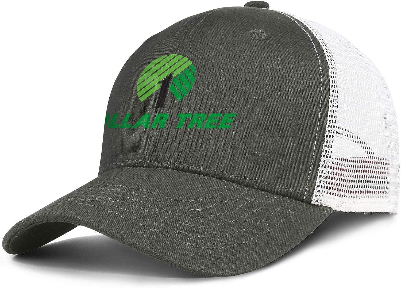 Unisex Baseball Cap Fashion Sparkle Dollar-Tree-Logo- Adjustable Mesh Back Trucker Cap Sun Hat : Clothing, Shoes & Jewelry