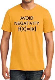 GeekDawn Graphic Printed T-Shirt|Avoid Negativity T-Shirt|Funny Quote T-Shirt|Geek T-Shirt|Math T-Shirt|Half Sleeve T-Shirt|Round Neck T-Shirt|100% Cotton T-Shirt|Gift|Gifting