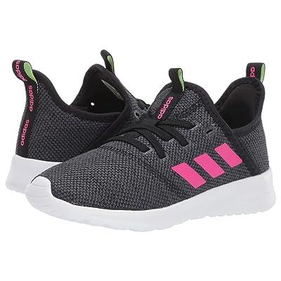 adidas Kids Cloudfoam Pure (Little Kid/Big Kid) (Core Black/Shock Pink/Grey Six) Kid