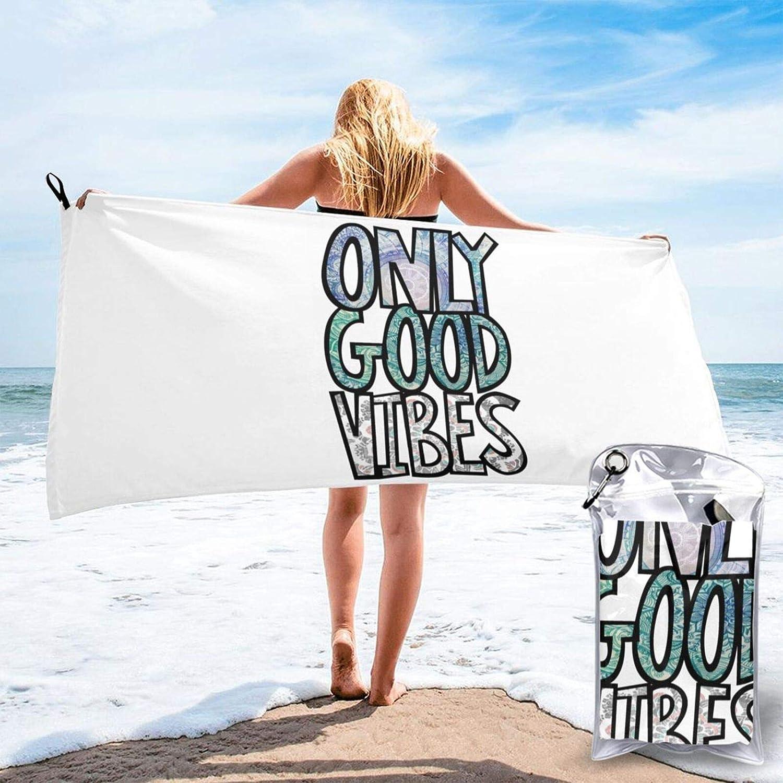 Feelin Good Bath Towel Microfiber Home Travel Drying SALENEW very popular! Large special price Quick Beach