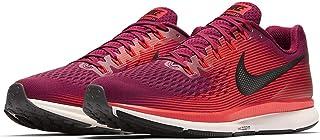 Nike Men's Air Zoom Pegasus 34 Running Shoes (Rush Maroon/Black, 11 M US)