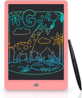 LCD Writing Tablet 10inch Colorful Screen Doodle & Scribbler Boards, Kids Learning Toys Drawing Pads with Stylus and Lanya...