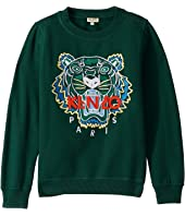 Kenzo Kids - Embroidered Tiger Sweatshirt (Big Kids)