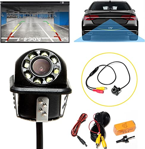 2021 Car Backup Camera 170° Wide Viewing Angle Easy-Installation Waterproof Rear View Reverse discount Camera online sale Clear Vision Universal Fitting outlet online sale