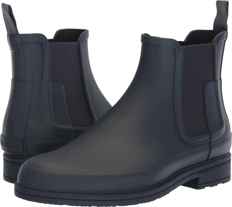 Hunter Men's Original Refined Dark Sole Chelsea Boots