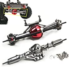 Aluminum Axle Front & Rear Axle FitFor 1/10 RC Rock Crawler AXIAL SCX10 Honcho (Front & Rear Axle)
