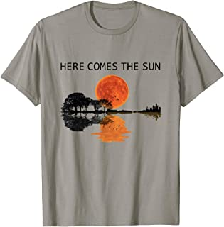 Here Comes The Sun Guitar Graphic T-Shirt
