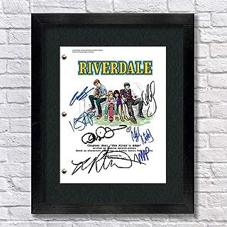 Riverdale TV Show Archie Cast Autographed Signed Reprint 8.5x11 Script Framed 13x15 Betty Cooper Archie Andrews Jughead Jones Veronica Lodge Cheryl Blossom