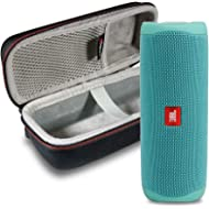 JBL FLIP 5 Portable Speaker IPX7 Waterproof On-The-Go Bundle with gSport Deluxe Hardshell Case...