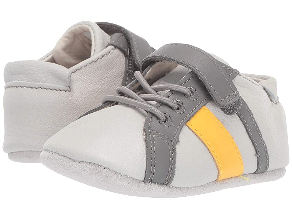 Robeez Rowan First Kicks (Infant/Toddler) (Grey) Boy