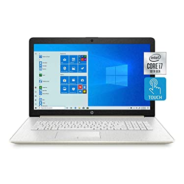 "2020 HP 17.3"" HD+ LED Touchscreen Laptop Intel Core i7-1065G7 8GD DDR4 512GB SSD DVDRW Windows 10"