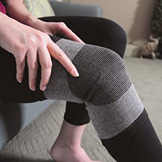 Knee Support - Bamboo Charcoal Technology - Self-Warming Knee Sleeve - Small