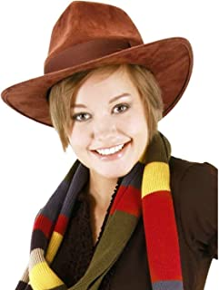 2bb16a0073bd8 Doctor Who Fourth Doctor Hat 4th Fedora Tom Baker Dr. BBC TV Show