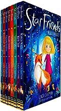 Star Friends Series 8 Books Collection Set by Linda Chapman (Mirror Magic, Wish Trap, Secret Spell, Dark Tricks, Night Sha...