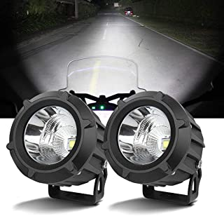 Catinbow Led Light Pods,4 Inch12W 6200 lm Led Work Light Off Road Driving Lights Led Fog Lights Waterproof IP67 Security Light Motion for SUV ATV Cart Pickup Boat Tractor Truck Trailer Mower