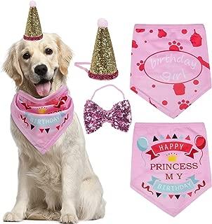 Best pink dog bandana Reviews