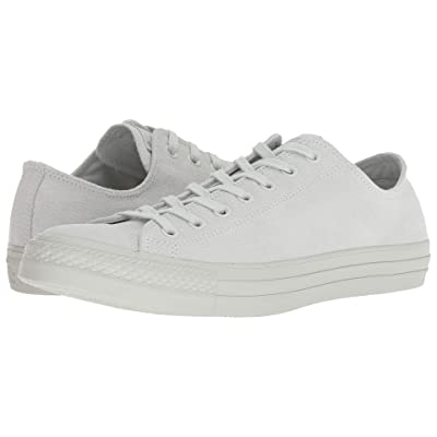 Converse Chuck Taylor(r) All Star(r) Ox Mono Suede (Light Silver) Athletic Shoes