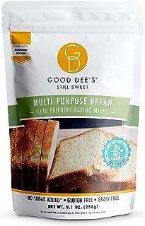 Good Dees Low Carb Baking Mix, Multi-Purpose Keto Bread Mix, Keto Baking Mix, Gluten Free, No Sugar Added, Grain-Free, Dai...