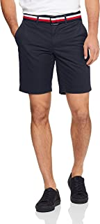 TOMMY HILFIGER Men's Brooklyn Straight Fit Shorts with Belt