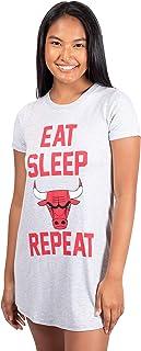 Ultra Game NBA Women's Super Soft Sleepwear Pajama Loungewear Tee Shirt Nightgown