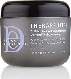 Design Essentials Therapeutics Anti-Itch Hair & Scalp Treatment Dandruff Hairgrooming For Relaxed & Natural Hair - 4 Oz