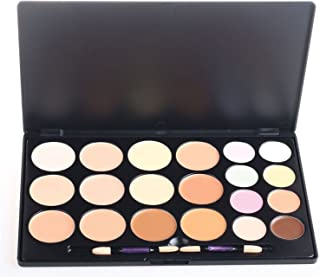 Pure Vie Professional 20 Colors Cream Concealer Camouflage Makeup Palette Contouring Kit - Ideal for Pro and Daily Use