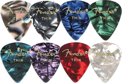 Fender 351 Premium Celluloid Guitar Picks (12-Pack)
