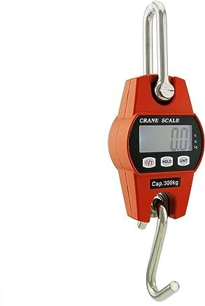 Outmate Mini Digital Crane Scale 300kg/600lbs with LED (Aluminium Alloy Case)