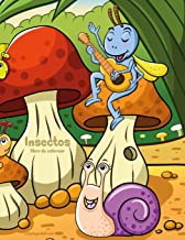 Insectos libro para colorear 1 (Volume 1) (Spanish Edition)