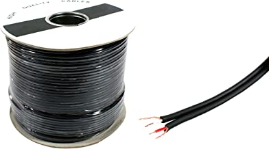 50m Twin Screened Audio Cable - Shotgun Dual Twin 2 Cores - RCA Stereo Phono AV Coax Wire