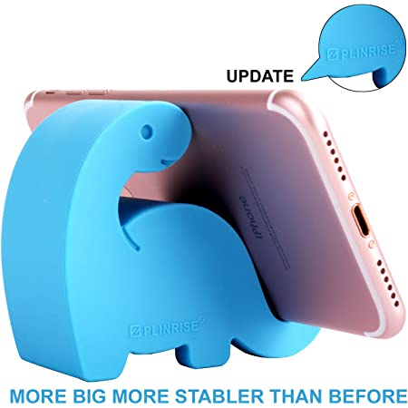 Fabric Blue Garden Cat Cell Phone Pouch