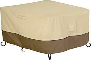 Classic Accessories Veranda Square Fire Pit/Table Cover, 52-Inch