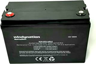 100 amp hour agm battery
