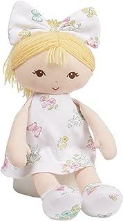 Baby GUND x Little Me Blonde Stuffed Plush Doll Toy, 13