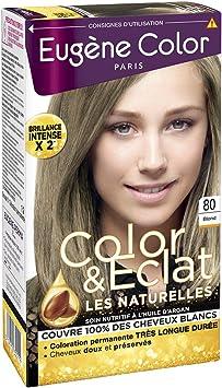 Eugenio Color – N ° 34 Castaño Avellana – Tinte permanente ...