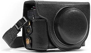 MegaGear MG975 Estuche para cámara fotográfica - Funda (Funda Canon PowerShot G7 X Mark II Negro)