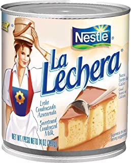 Nestle, Milk Condensed La Lechera, 14 Ounce