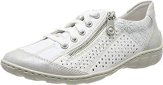 Rieker Femme Chaussures de Ville à Lacets M37G6, Dame Chaussures de Sport