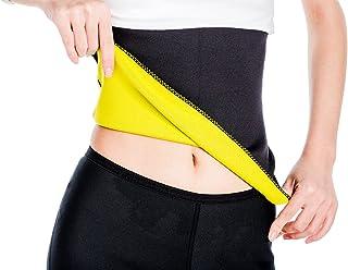 Valentina Unisex Hot Body Shaper, Neoprene Slimming Belt, Tummy Control Shapewear, Stomach Fat Burner, Best Abdominal Trainer, Workout Sauna Suit, Weight Loss Cincher for Women & Men