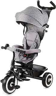 Kinderkraft Triciclo Evolutivo ASTON, Plegable, Cinturón, 9