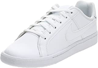 Nike Boy's Court Royale(gs)/ White Leather Sneakers