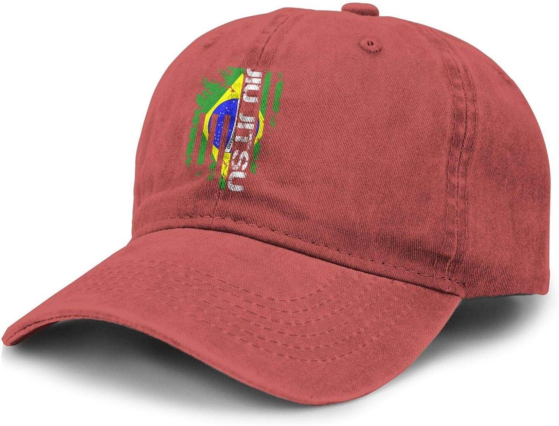 Vintage Brazilian Jiu Jitsu Adult Curved Brim Baseball Hat Sports Cowboy Cap