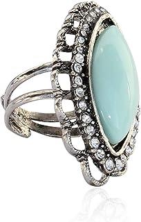 Touchstone Austrian Diamonds & Firoja Marquise Ring For Women