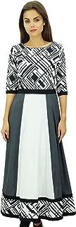 Phagun Ethnic Cotton Printed Designer Kurta Anarkali Tunic Kurti Dress