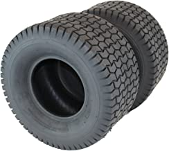 Antego Set of Two 18x8.50-8 4 Ply Turf Tire for Lawn & Garden Mower (2) 18x8.5-8