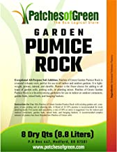Patches of Green VOLCANIC GARDEN PUMICE ROCK from 8 Dry Quarts Bag